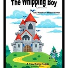 The Whipping Boy A Novel Teaching Pack