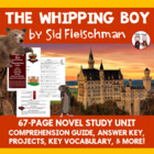 The Whipping Boy Reading Comprehension Activity Guide
