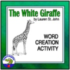 The White Giraffe or South Africa Word Creation Activity