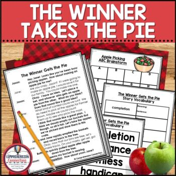 The Winner Takes the Pie Partner Script and Activities