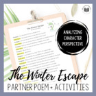 """The Winter Escape"" {A Seasonal Partner Poem}"