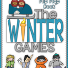 The Winter Games Interactive Flip Flap Book