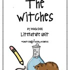 """The Witches"", Roald Dahl, a HUGE 75 page Literature Unit!"