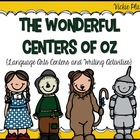 The Wonderful Centers of Oz {Language Arts Centers and Wri
