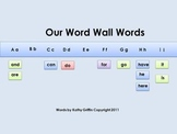 The Word Wall Song Mini Video Fun