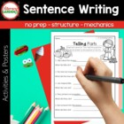 The Write Stuff {SENTENCES} for  Emergent Writers