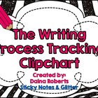 The Writing Process: A Clipchart for Student Tracking {Gli