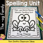 The -og Family Spelling {Word Work} Lists & Tests