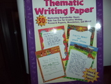 Thematic Writing Paper  ISBN#0-590-66697-5