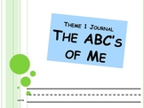 Theme 1 All About Me Journal