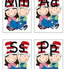 Theme Alphabet cards for center activities