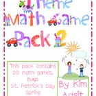 Theme  Math Game Pack 2 Bundle