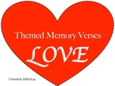 Themed Bible Memory Verses - LOVE