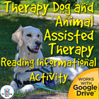 Therapy Dog Reading Informational Activity ~ CCSS Aligned!