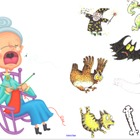 There Was An Old Lady Who Swallowed a Bat Smart-board activity