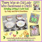 There Was an Old Lady Who Swallowed a Chick! {retelling, w