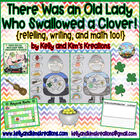 There Was an Old Lady Who Swallowed a Clover! {retelling,