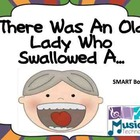 There Was an Old Lady Who Swallowed a... SMART Board Lesson