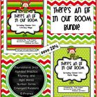 There's An Elf In Our Classroom: Literacy and Math Bundle