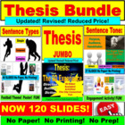 Thesis JUMBO Writing PowerPoint