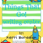Things That Go! Transportation Writing Center