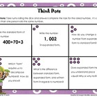 Think Dots: Standard, Expanded, and Written Form