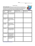 Thinking While Reading Graphic Organizers for Any Novel