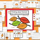 Thinking about Autumn: Smart Charts and Writing Frames