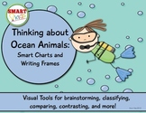 Thinking about Ocean Animals: Smart Charts and Writing Frames