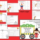 Thinking about the Circus: Smart Charts and Writing Frames