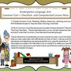 3rd Grade Common Core Language Arts Checklists and Drop Do