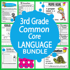 Third Grade Common Core Language Bundle