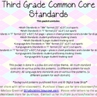 Third Grade Common Core Pack Preview