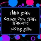 Third Grade: Common Core State Standards Pacing Guide