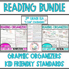 Third Grade ELA Common Core BUNDLE - Assessments/ Kid Frie