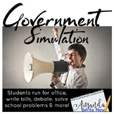 Third Grade Government Simulation Pack