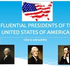 Third Grade Influential Presidents Review PowerPoint