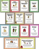 Third Grade Language Arts Centers/Activities Bundle