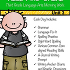 Third Grade Language Arts Morning Work Unit 3