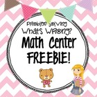 Third Grade Math Centers: Freebie!!