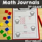 Math Journal - Third Grade Aligned to Common Core