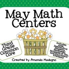 Third Grade May Math Centers