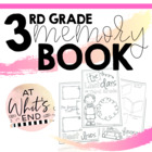 Third Grade Memory Book 2014 {Last Days of Third Grade} En