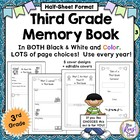 Third Grade Memory Book: Tales of a Third Grade Someone Wr