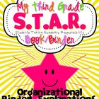 Third Grade S.T.A.R. Book (Binder) Organizational Binder