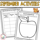 Third Grade September Activities CCSS Aligned: Apples, Lab