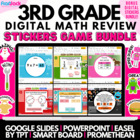 Third Grade Smart Board Game Pack - Common Core Aligned