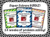 Third Grade Weekly Problem Solving Bundle