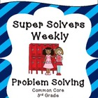 Third Grade Weekly Addition Subtraction Problem Solving: C