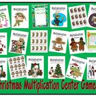 Christmas Multiplication Center Games - All Thirteen Times